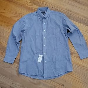 NWT Club Room Size 16 (32-33) Mens Button Up